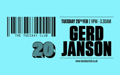 The Tuesday Club: Gerd Janson (3 Hour Set)
