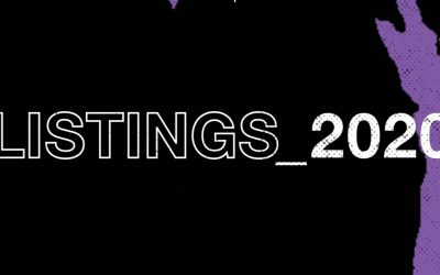 2020 LISTINGS ANNOUNCED