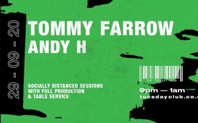 TTC – Socially Distanced w/ Tommy Farrow