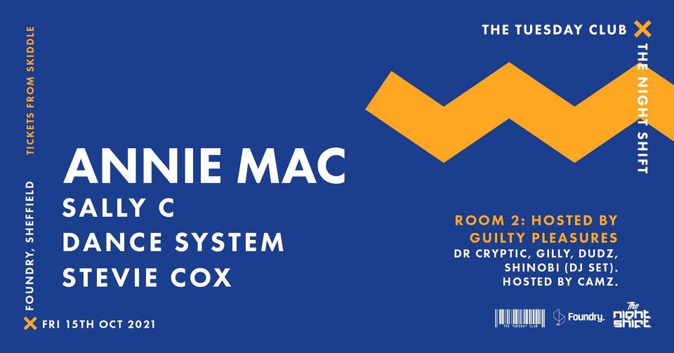 TTC x TNS: Annie Mac, Sally C, Dance System, Stevie Cox and more