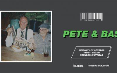 5th Oct : Pete & Bas